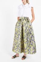 DELPOZO Brocade Trousers