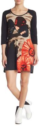 Papillon Bold Print Knit Dress