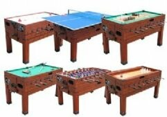 13 in 1 Combination Game Table Berner Billiards Color: Cherry