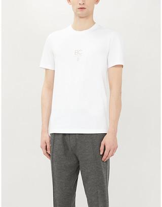 Brunello Cucinelli Logo-print cotton-jersey T-shirt