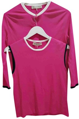Emilio Pucci Pink Knitwear for Women