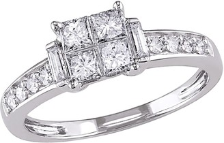 Stella Grace 14k White Gold 5/8 Carat T.W. Diamond Engagement Ring