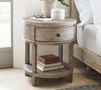 "Pottery Barn Toulouse 23"" Round Nightstand"