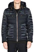 Balmain Camouflage Printed Hooded Jacket