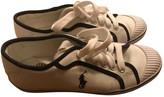 Polo Ralph Lauren White Cloth Trainers
