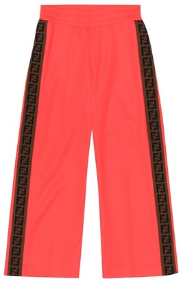 Fendi Kids Cotton-blend trackpants