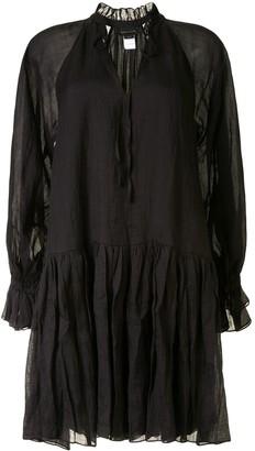 Karen Walker Willow tiered mini dress