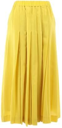 Chloé Yellow Silk Skirts