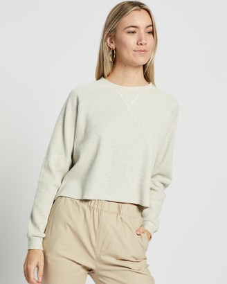 Nude Lucy Kai LS Waffle Top