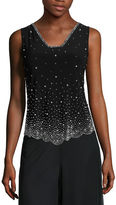 MSK Beaded Tank Top - Petite