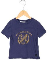 Burberry Kids' Printed Crew Neck T-Shirt