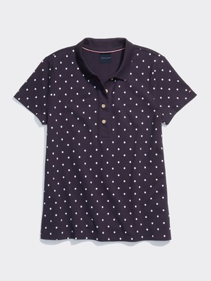 Tommy Hilfiger Dot Wide Placket Polo