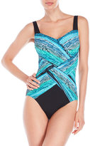 Gottex Snake Charmer One-Piece Swimsuit