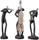Uttermost 3-pc. Musicians Decor Set