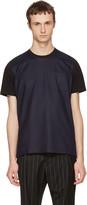 Ami Alexandre Mattiussi Navy and Black Crewneck T-shirt
