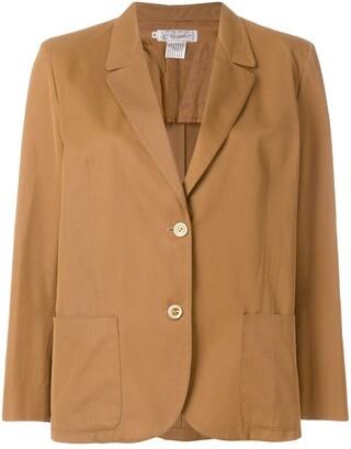 Gucci Pre-Owned single breasted blazer