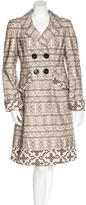 Nanette Lepore Embroidered Long Coat