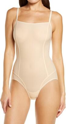 ITEM m6 All Mesh Shape Bodysuit