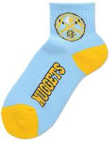 For Bare Feet Denver Nuggets Ankle TC 501 Medium Socks