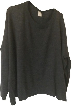 Madewell Anthracite Wool Knitwear for Women