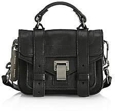 Proenza Schouler Women's Micro Lux Leather Shoulder Bag