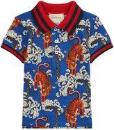 Gucci Oriental Tiger Polo Shirt