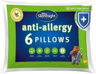 Silentnight Anti-Allergy Pillows Pack of 6