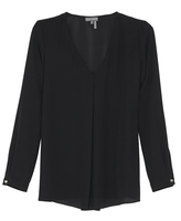 Vince Camuto Center-pleat Blouse