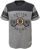 Reebok Boys 8-20 Boston Bruins Lineage Tee