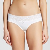 Xhilaration Women's Wide Lace Cotton Hipster