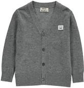 Acne Studios Dasher Mini Badge Wool Cardigan