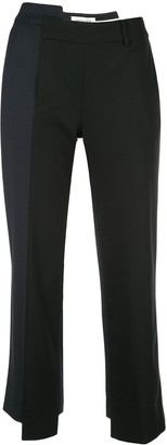 Monse Deconstructed Cropped Trousers