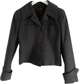 Mulberry Anthracite Cotton Jackets