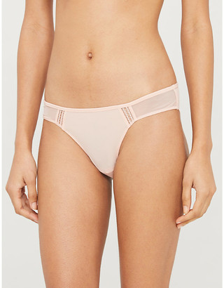 Heidi Klum Intimates An Angel Kiss mesh bikini briefs