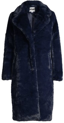 Apparis Siena Longline Faux-Fur Coat