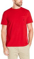 Nautica Men's Crew-Neck Pocket T-Shirt