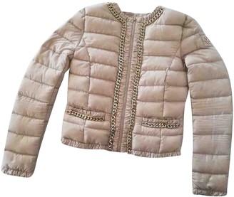 Elisabetta Franchi Beige Jacket for Women