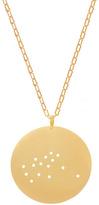 Gold Dipped Zodiac Pendant