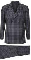 Brioni Berne Bold Check Suit