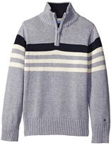 Tommy Hilfiger Peter 1/2 Zip Sweater (Toddler/Little Kids)