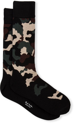 Paul Smith Men's Olaf Camo Socks