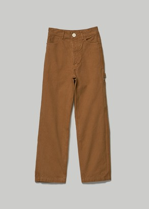 Jesse Kamm Women's Handy Pant in Tobacco Size 0