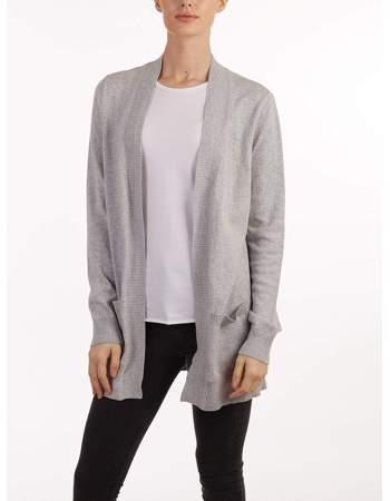 3fea3e4e8a17 Grey Boyfriend Cardigan - ShopStyle