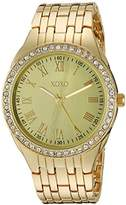 XOXO Women's Quartz Metal and Alloy Casual Watch, Color:Gold-Toned (Model: xo190)