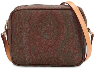 Etro Paisley Print Coated Cotton Camera Bag
