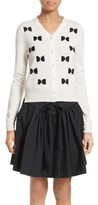 Marc Jacobs Women's Bow Wool Cardigan
