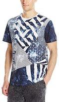 Akademiks Men's Star Four Color Process T-Shirt