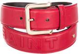 Saint Laurent Leather Logo Belt