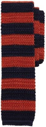 Brooks Brothers Wide Stripe Knit Tie