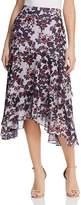 Whistles Asymmetric Floral Skirt - 100% Exclusive